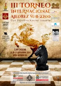 III Torneo Internacional de Ajedrez sub 2200 Club Deportivo Ajedrez Lapuerta