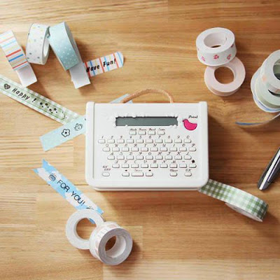 Coharu Impresora de cintas washi tape Label and Tape Printer