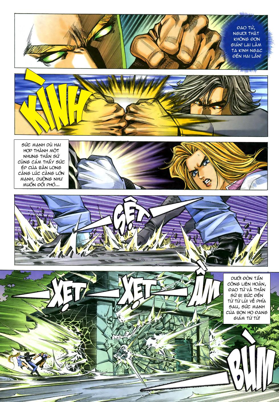 X Bạo Tộc chap 33 - Trang 24
