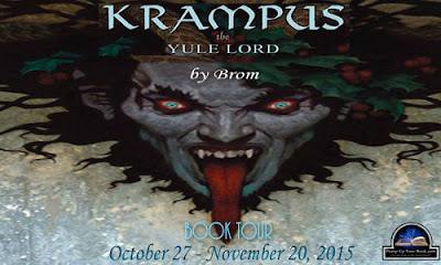 Krampus the Yule Lord Book Tour