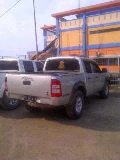 Pengiriman Ford Ranger KH 8053 X Banjarmasin-Jakarta