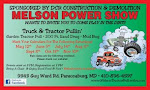 Melson Tractor/Truck Pull Dirt Drags Mud Hop