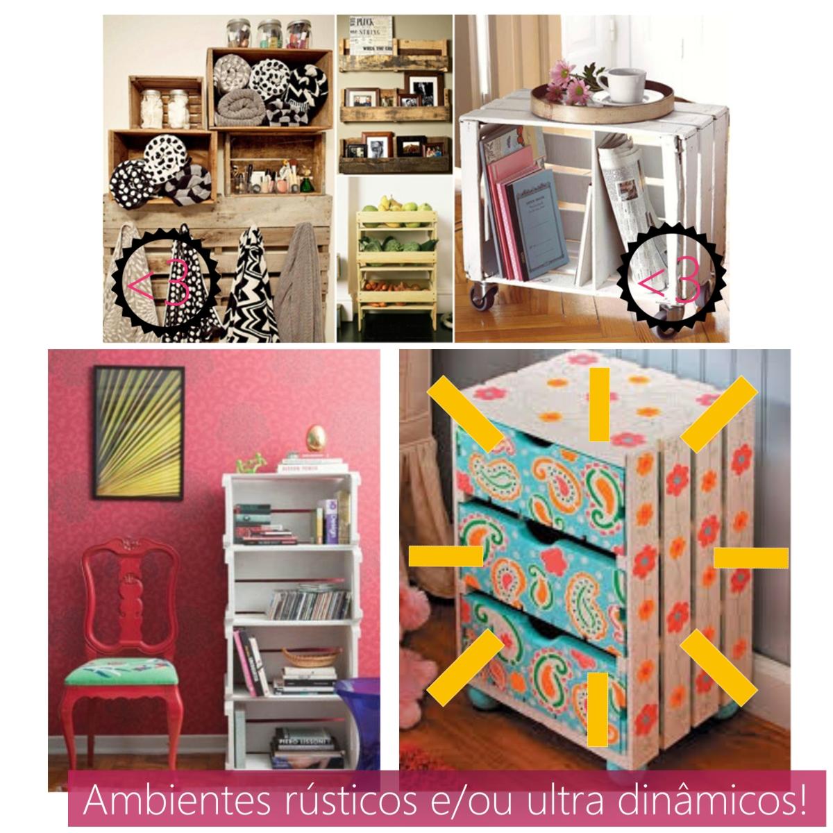Bonequinha de Luxo: Usando caixotes de feira livre na decoração! #C79904 1200x1200