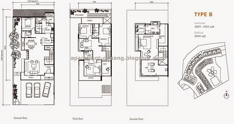 Bayu Ferringhi (Semi-Detached House) | Apartment-Penang.com