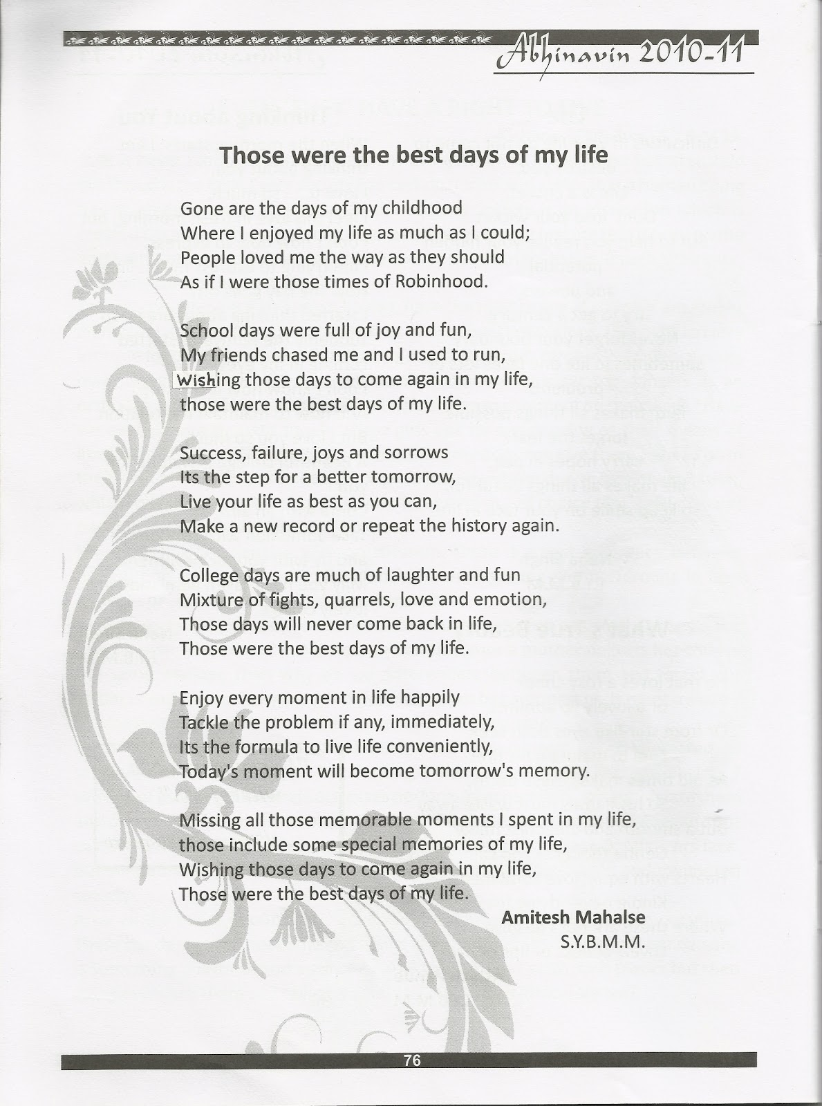 Life poem this is my 101 Funeral