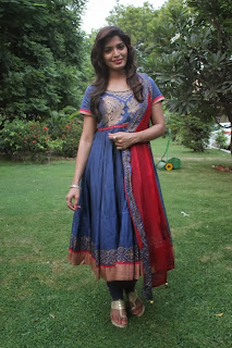 Sanchita Shetty Pictures in Salwar Kameez at Pizza 2 The Villa Special Show ~ Celebs Next