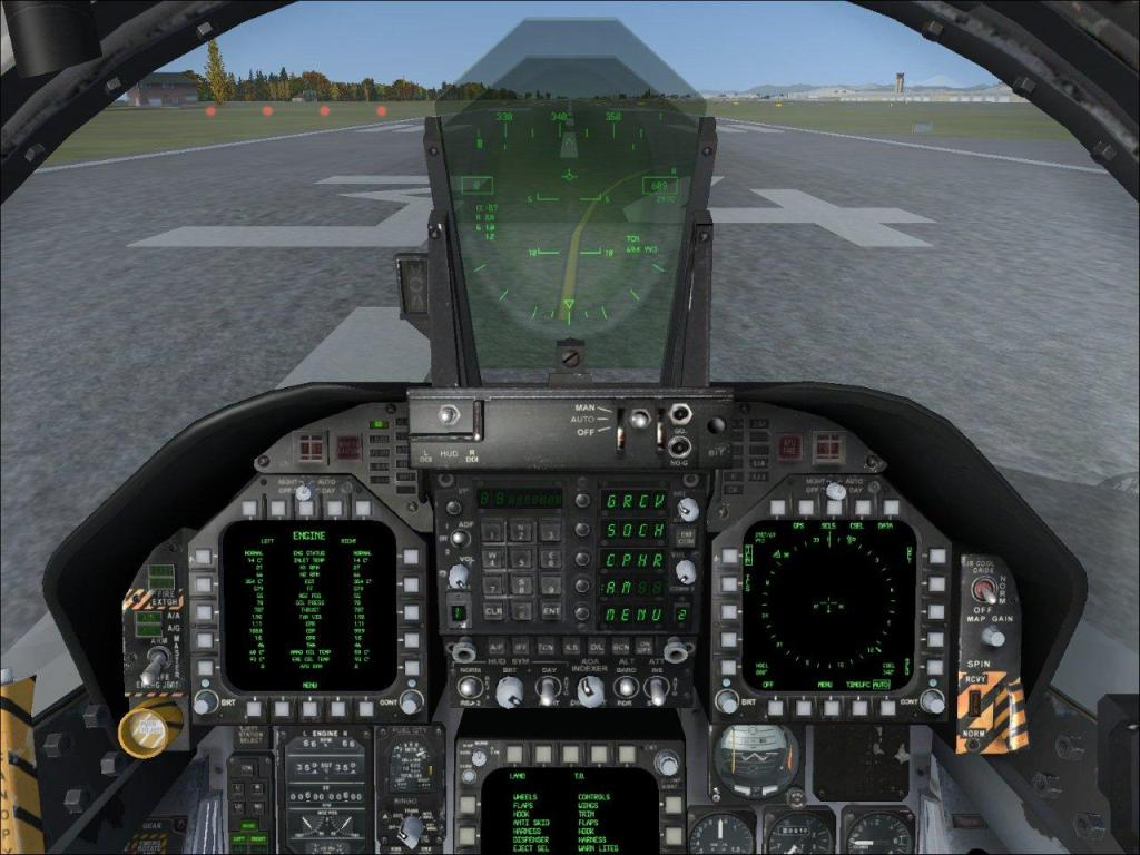 F 18 Cockpit Cool Jet Airlines: F/A...