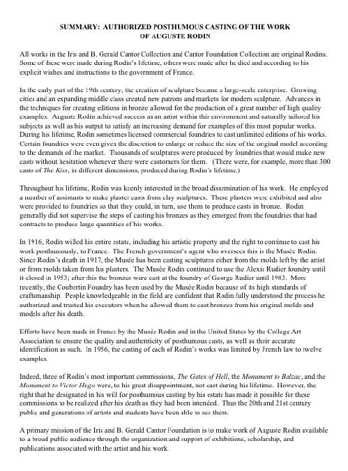 foundation year in law summary response essays