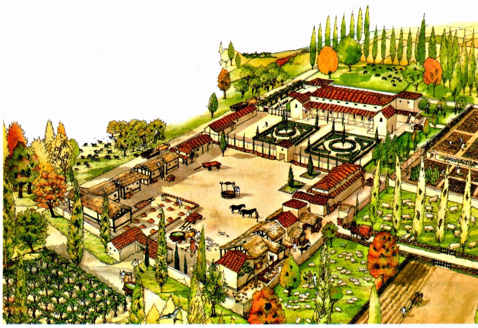 La vida en roma 509 a c 475 d c enciclopedia de - Sistema de calefaccion central ...