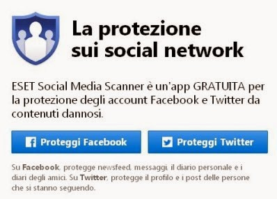 app sicurezza social network