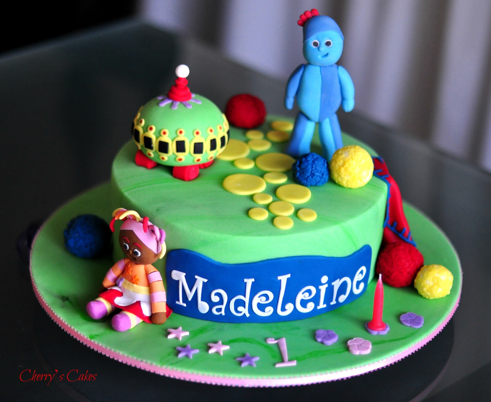 Cherry\'s Cakes: A Reprise for Madeleine - In the Night Garden