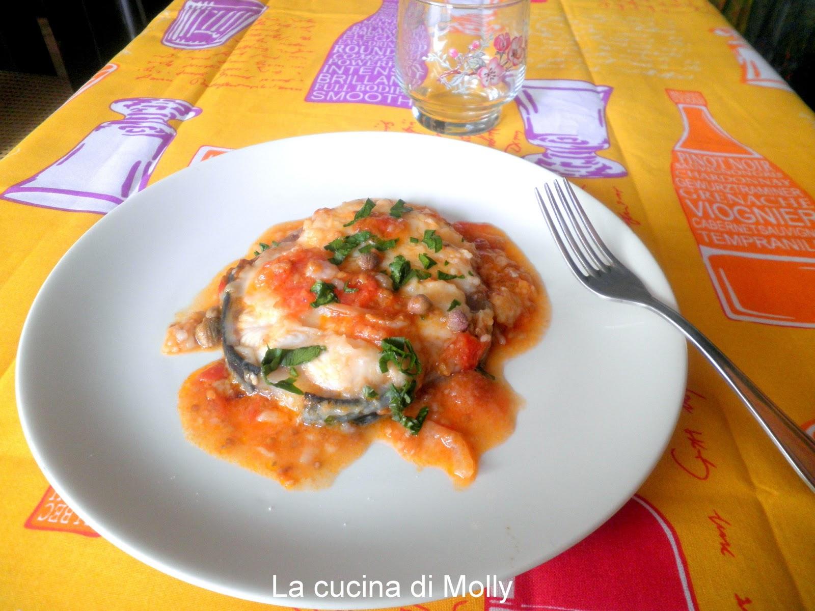 La Cucina Di Molly Tranci Di Palombo In Umido