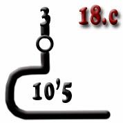 Ejemplo 18.c: Cañón (x3) de calibre 10'5