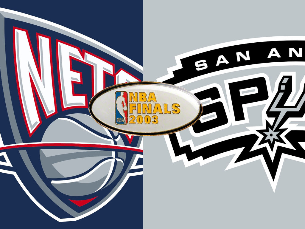 DAR Sports  2003 NBA Finals- San Antonio Spurs vs New Jersey Nets ... b7ad9571d