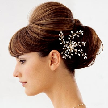 wedding hairstyles bridesmaids. updo wedding hairstyle