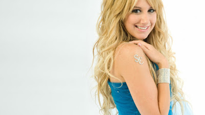 Ashley Tisdale Widescreen Wallpaper