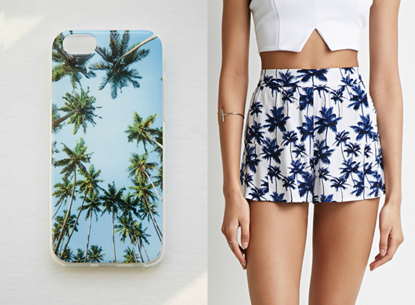 spring fashion palm trees trend