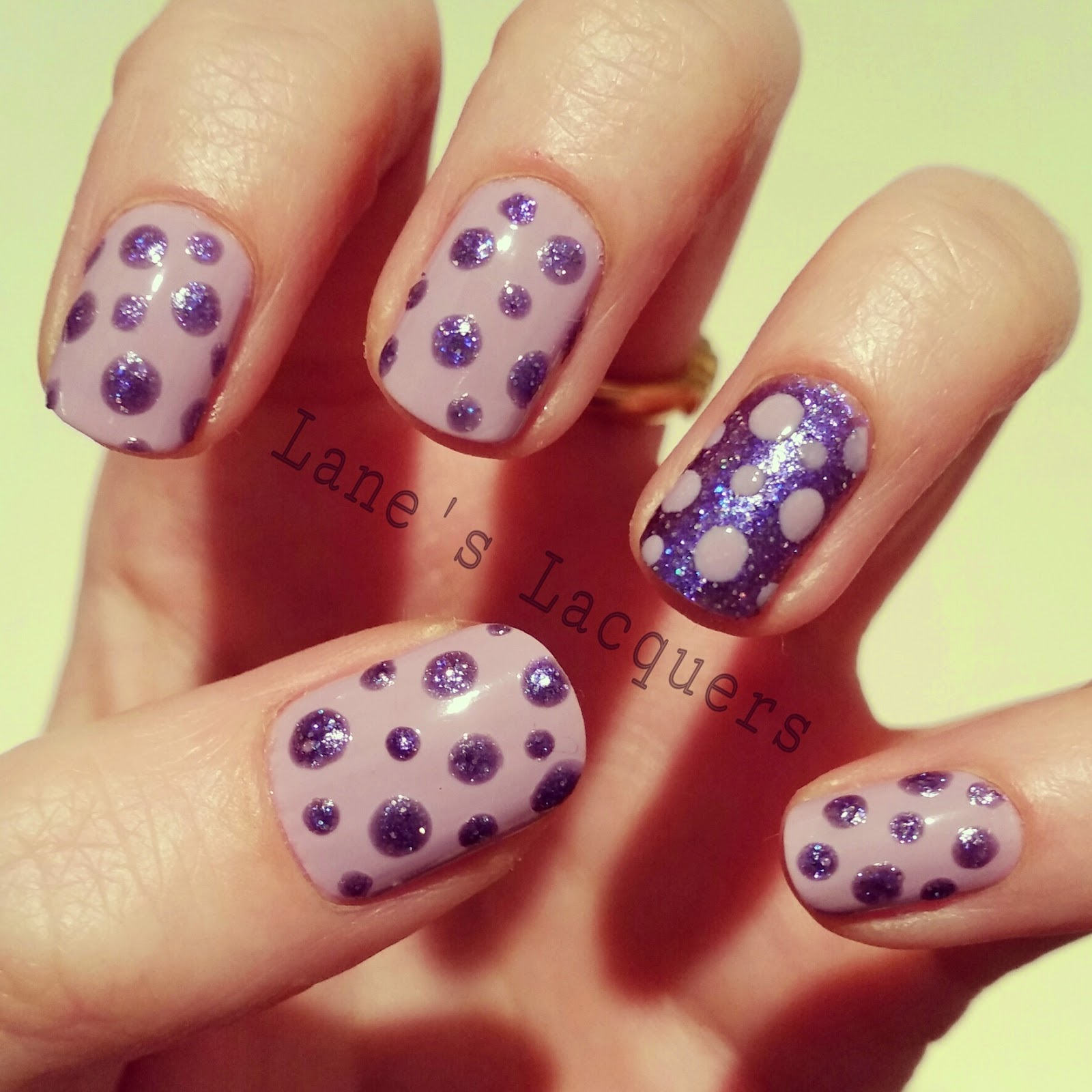 barry-m-glitterati-fashion-icon-purple-dotticure-nail-art