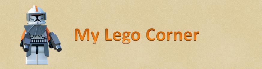 My Lego Corner