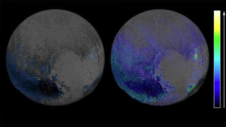 Posible océano de Plutón tan salado como el Mar Muerto
