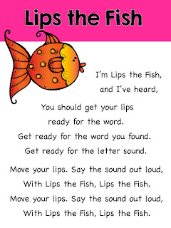 https://www.teacherspayteachers.com/Product/Lips-the-Fish-Reading-Strategies-Song-1993732