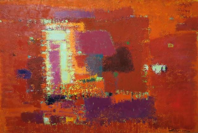 Петр Лебединец, Красная композиция, 2008
