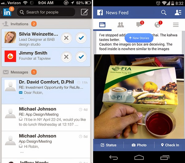 Hot User Input Design Patterns for Mobile - Notifications