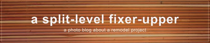 a split-level fixer-upper