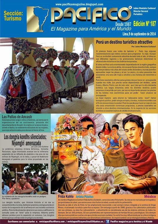 Revista Pacífico Nº 187  Turismo