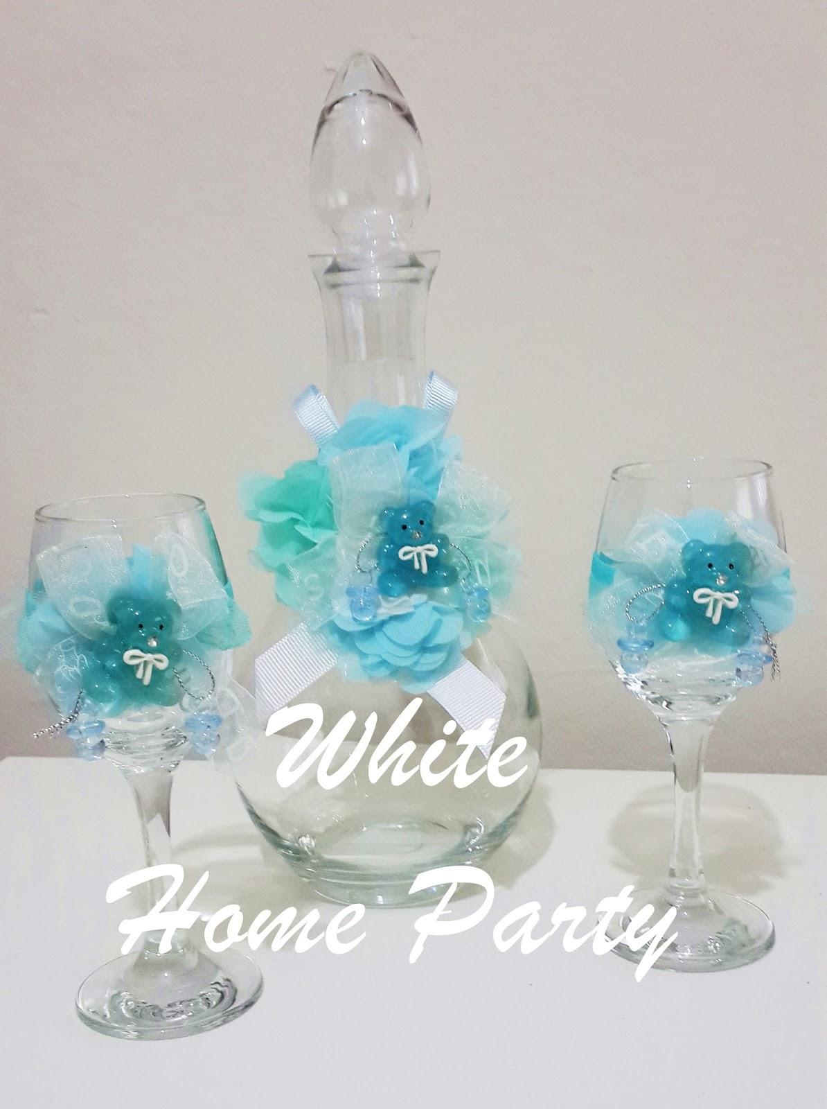 White Home Party Lohusa Erbet Takmlar Serbet