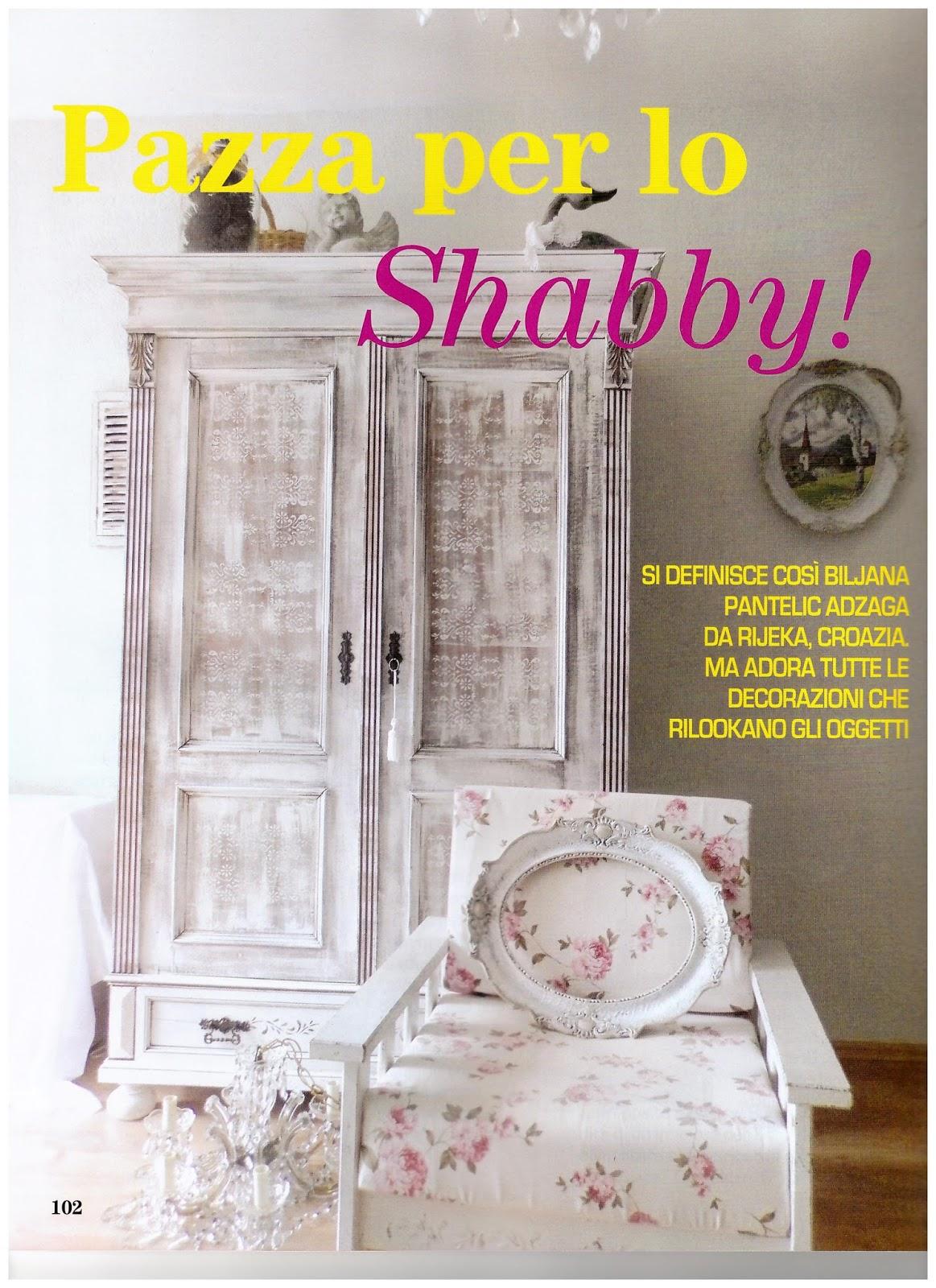 Biljana shabby maison deco magazine la casa delle emozioni Magazine deco maison