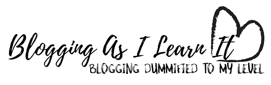 Blogging As I Learn It