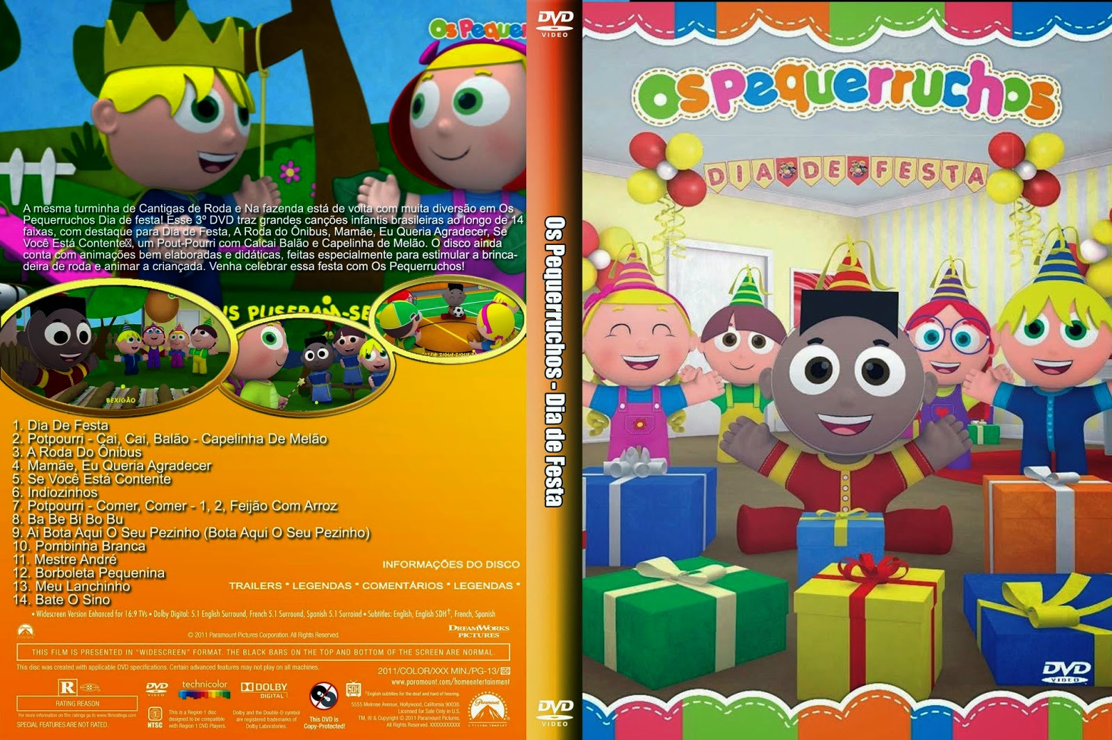 Dvd os pequerruchos volume 2 download