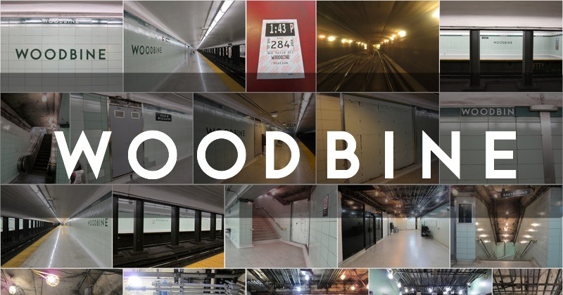 Woodbine station photo gallery