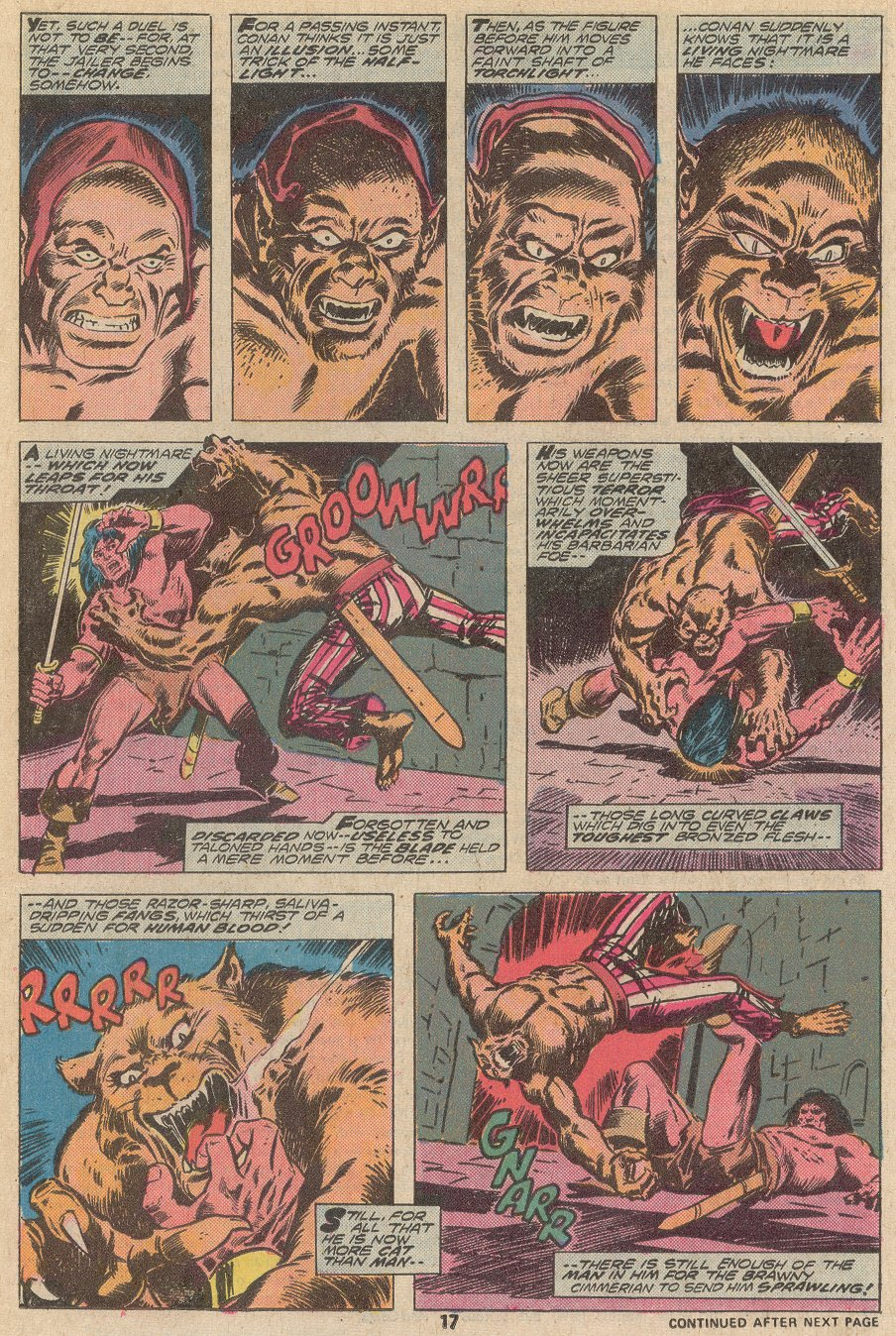 Conan the Barbarian (1970) Issue #67 #79 - English 12