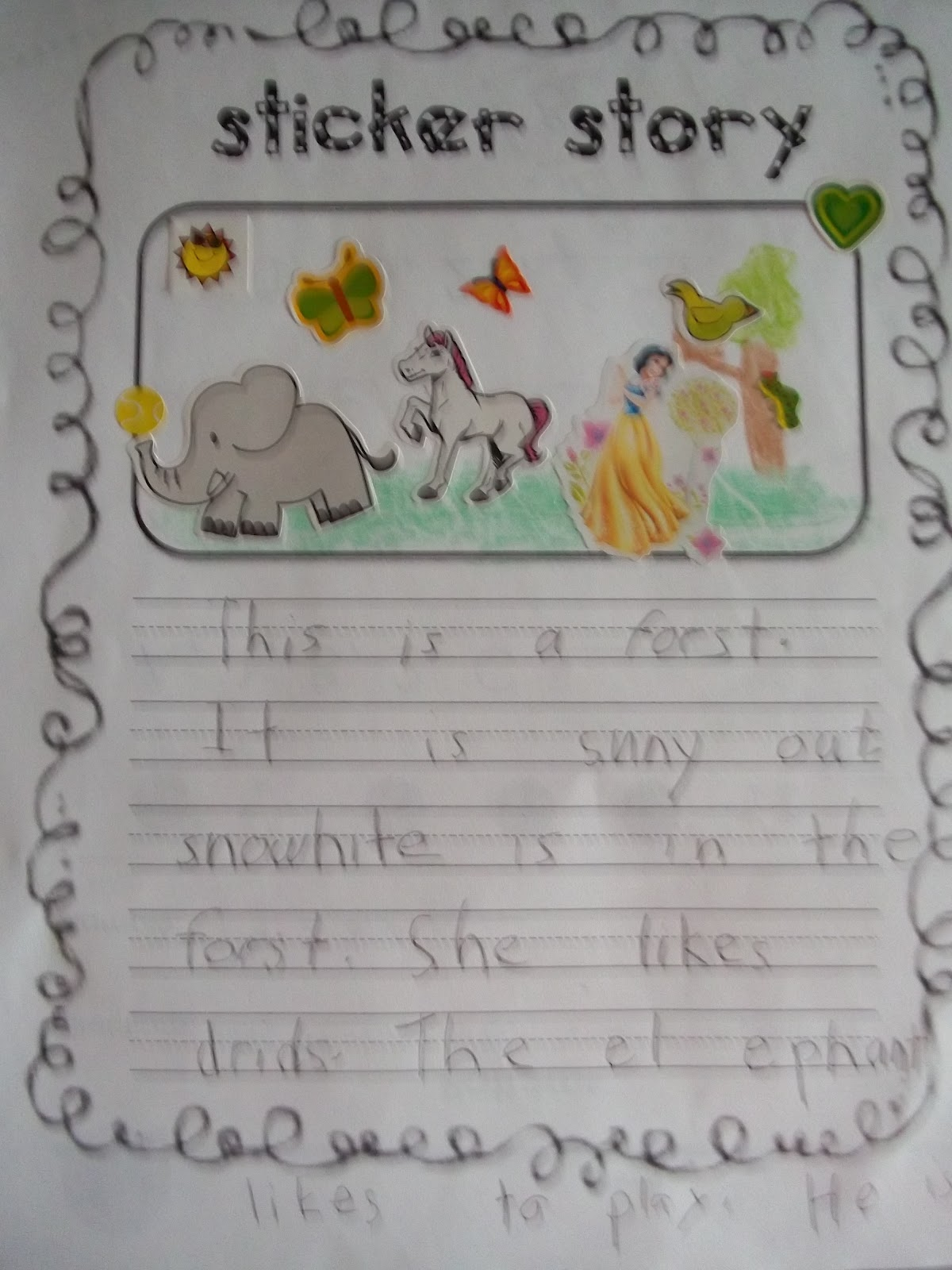 first grade story paper Brainzy's first grade stories have math and reading concepts embedded within to make kids excited to learn listen now.