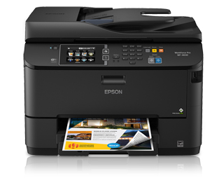 Epson WorkForce Pro WF-4630 Driver Download For Windows 10 And Mac OS X