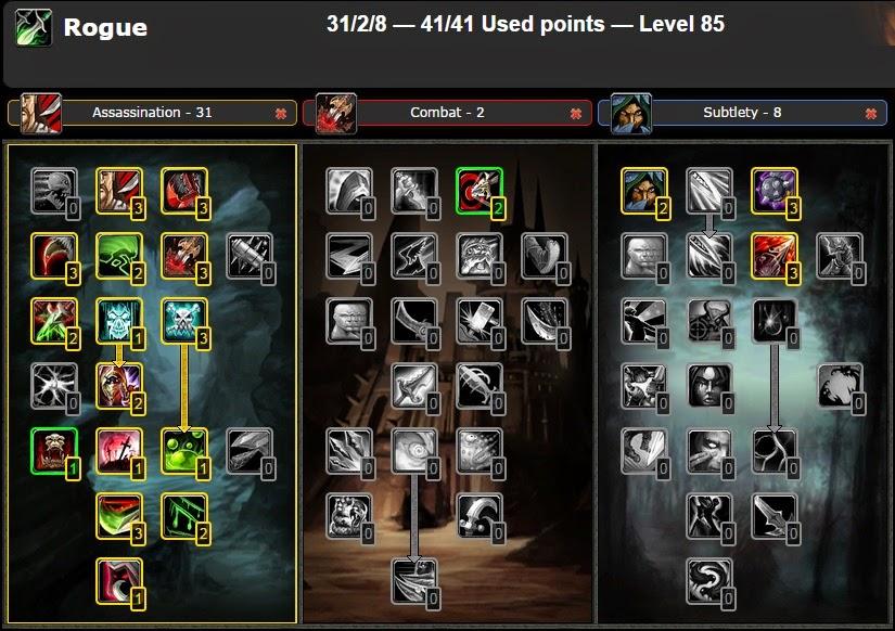 Combat Rogue Guide 5.4.8 - Rogue - Arena Junkies
