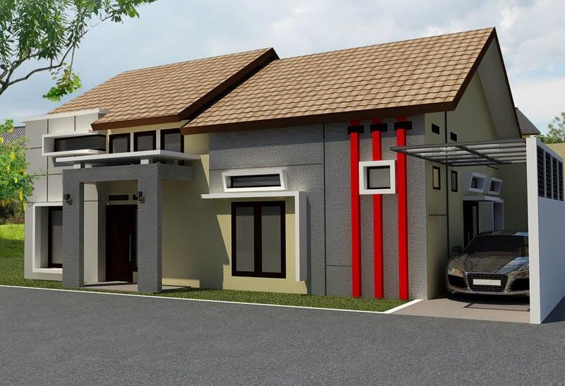 contoh rumah minimalis 1 lantai desain rumah minimalis