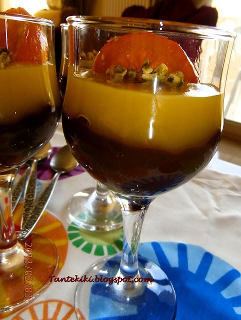 Κρέμα σοκολάτα – πορτοκάλι