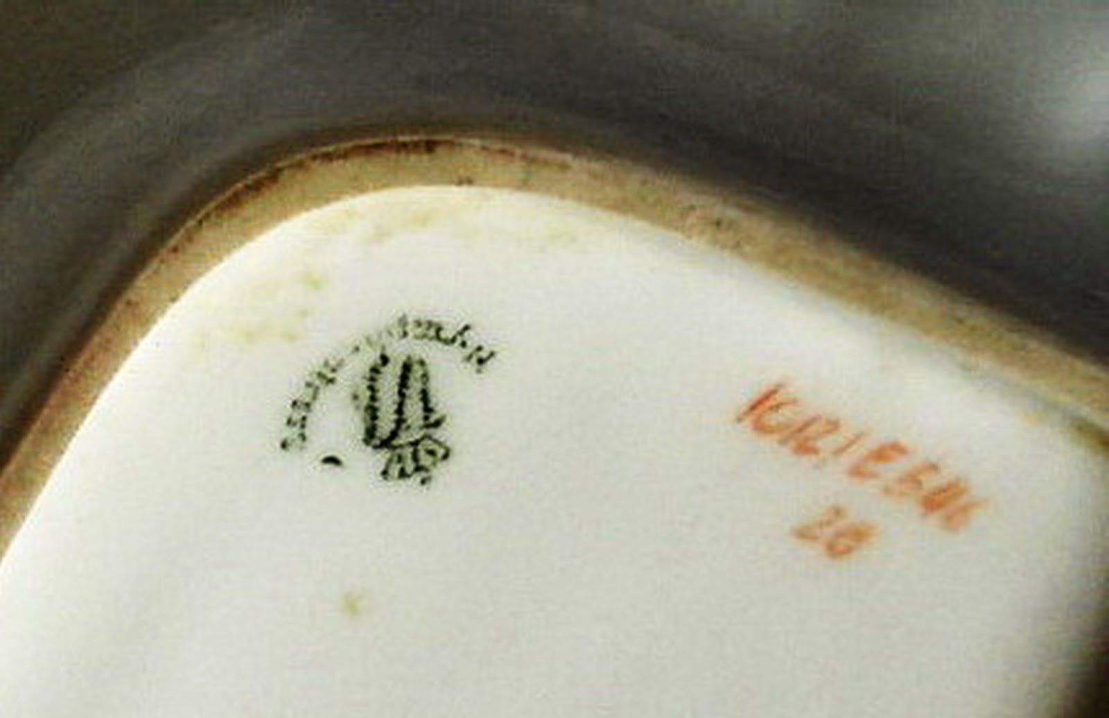 Dating nymphenburg porcelain marks