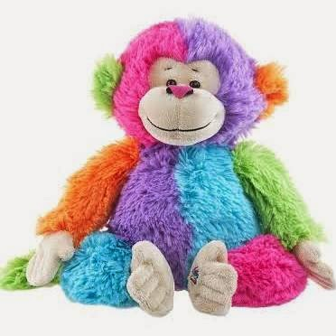 Colorblock Monkey Webkinz Pet