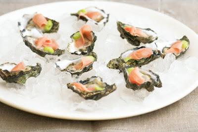 Sashimi oysters Recipe