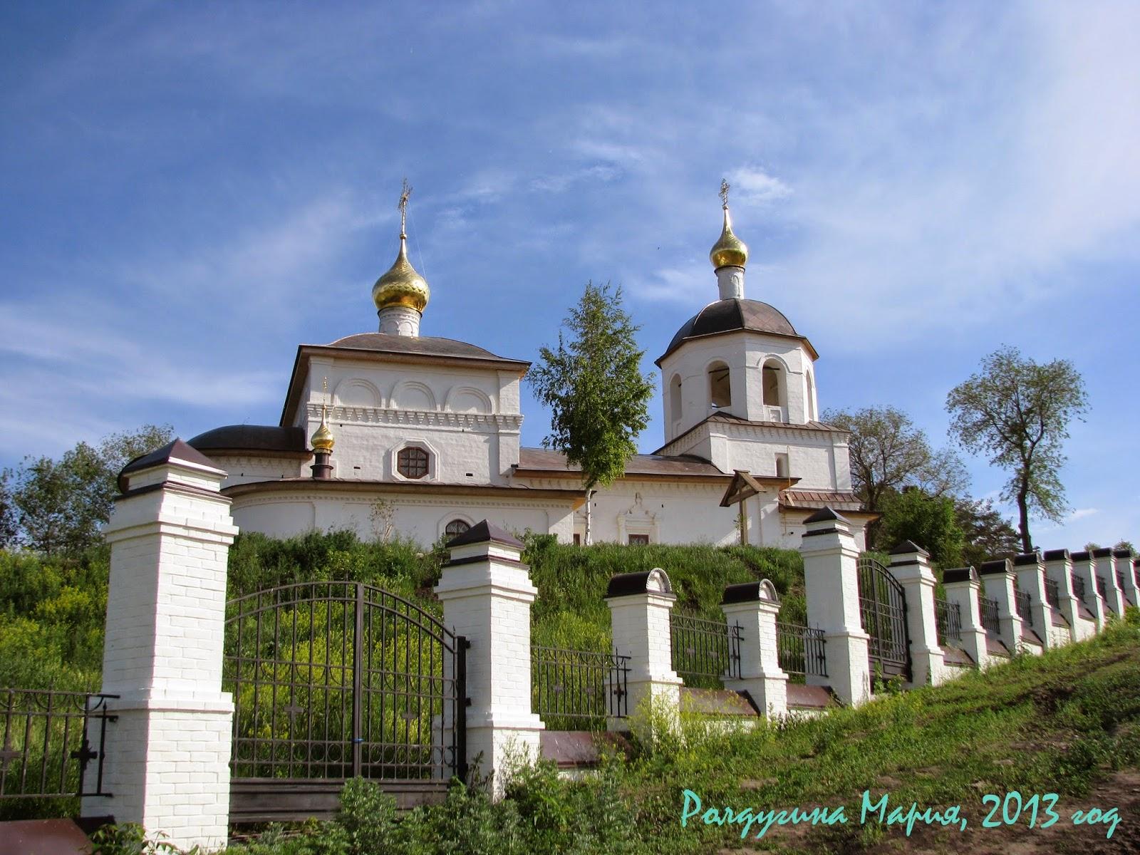 Церковь Константина и Елены Свияжск фото