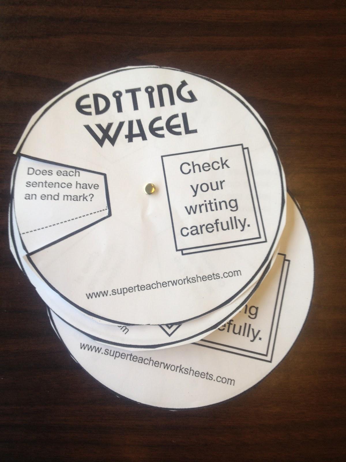 Edit writing