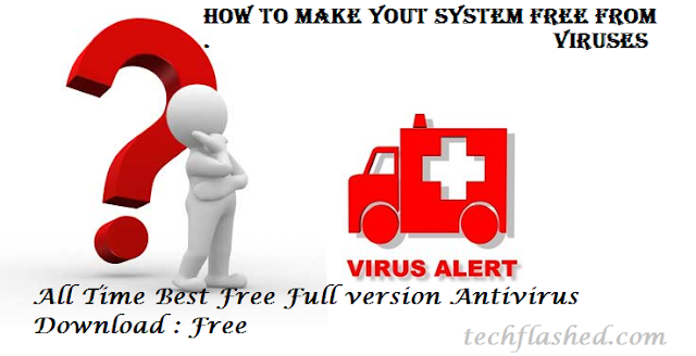 All Time Best Free Full version Antivirus Download