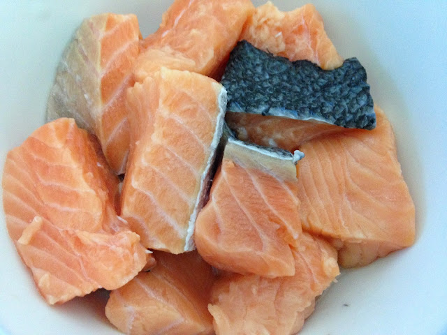salmon Fish pieces