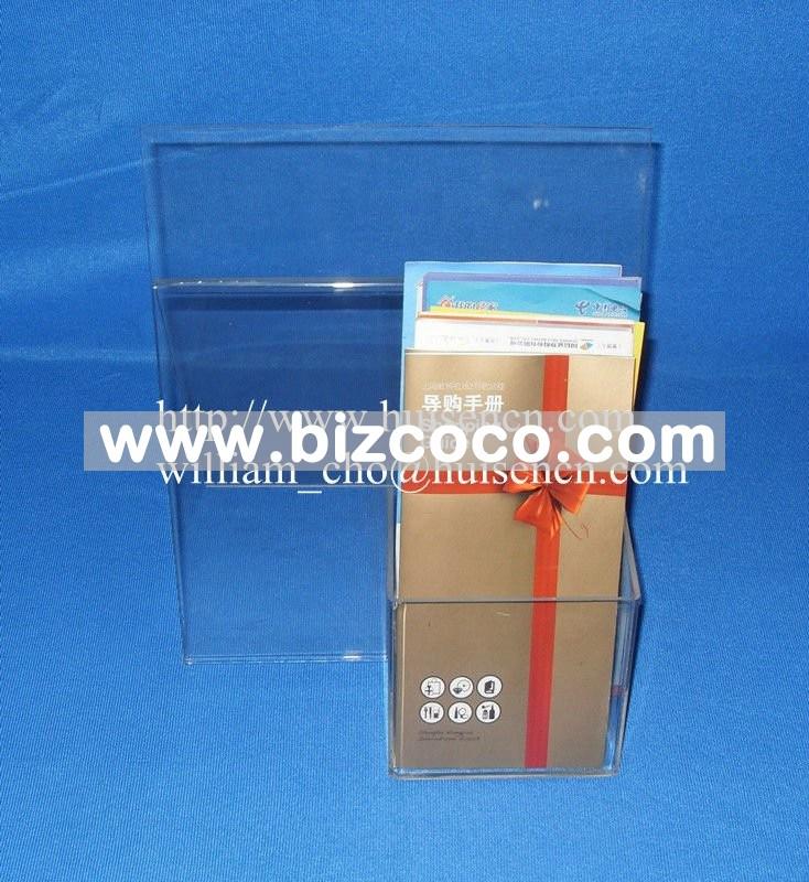 Brochure business card holder brochure designs pics for Flyer holder with business card