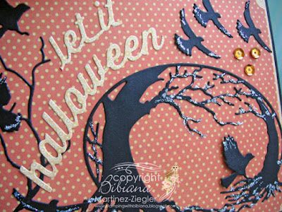 halloween crows cave  detail