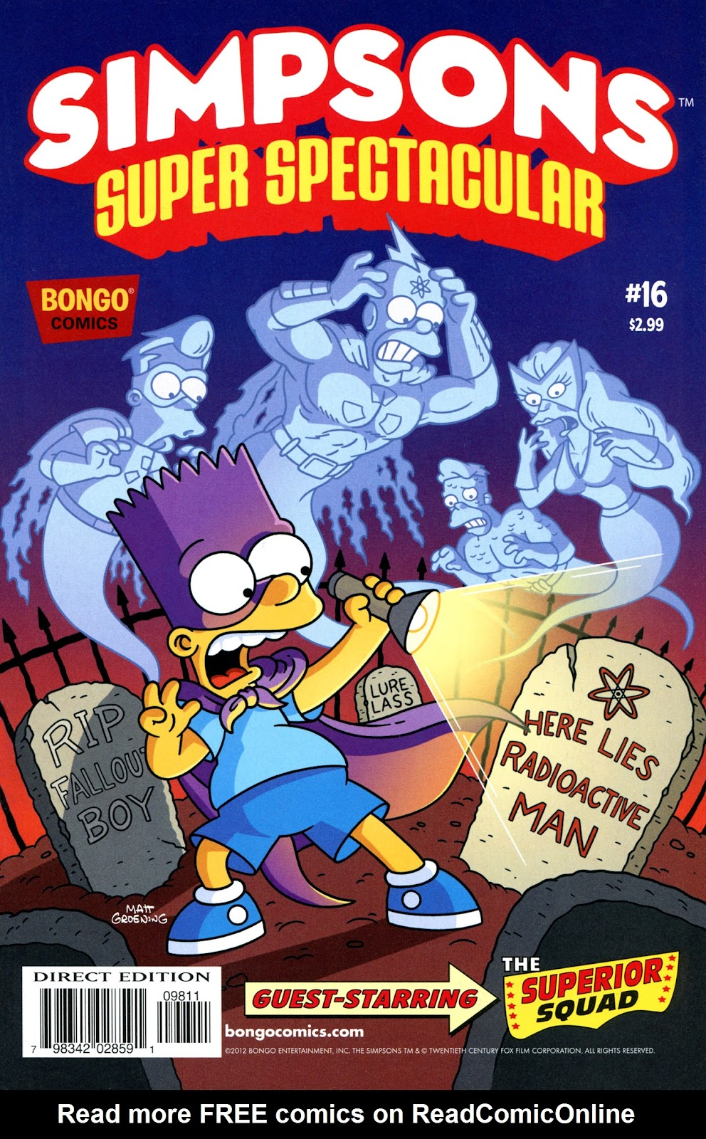 Bongo Comics Presents Simpsons Super Spectacular issue 16 - Page 1